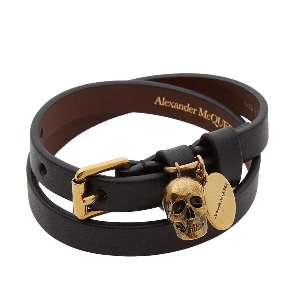 Photo: Alexander McQueen Double Wrap Skull Bracelet