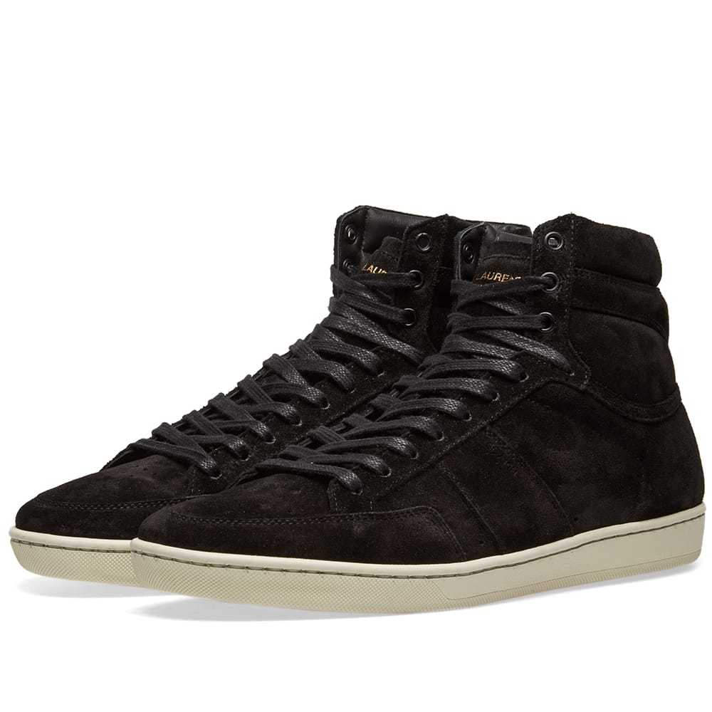 Photo: Saint Laurent SL-10H Court Classic Suede Sneaker