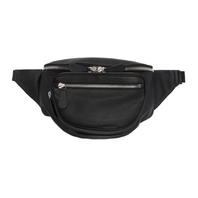 Photo: Maison Margiela Black Leather Crossbody Pouch