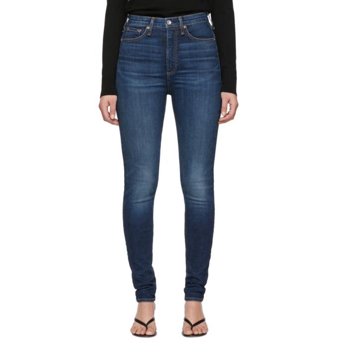 Photo: rag and bone Blue Denim Jane Jeans