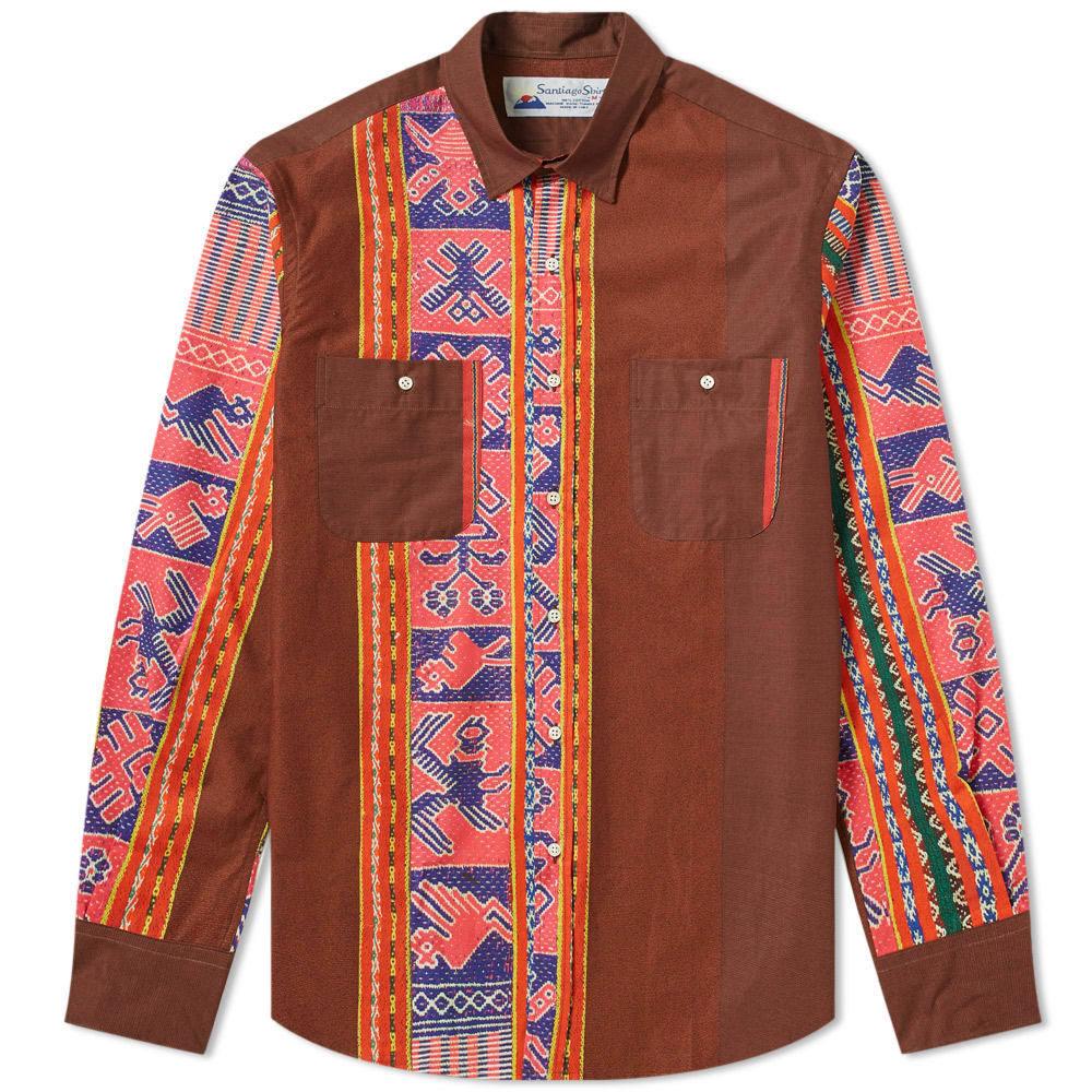 Photo: Santiago Shirt by Gitman Vintage Blanket Barré Shirt Burgundy