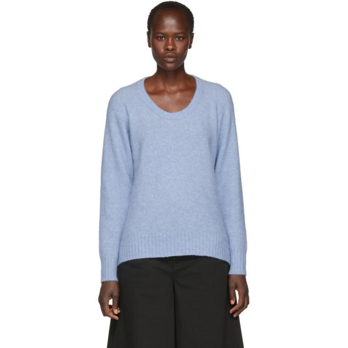 3.1 Phillip Lim Blue Wool and Alpaca Sweater