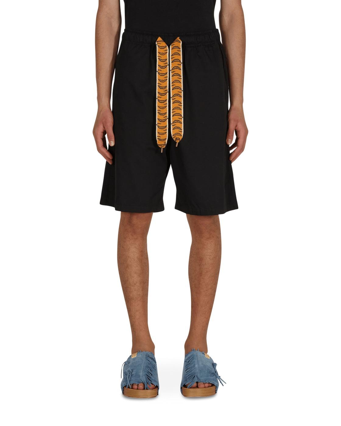 Kapital Combed Burberry Easy Shorts Black
