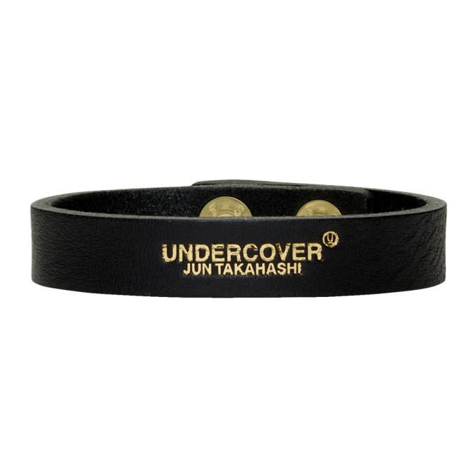 Photo: Undercover Black Logo Bracelet