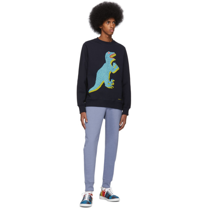 PS by Paul Smith Navy Big Dino Sweatshirt