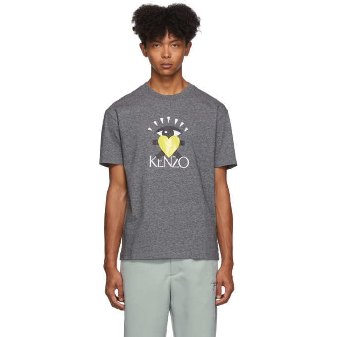 Photo: Kenzo Grey Limited Edition Cupid T-Shirt