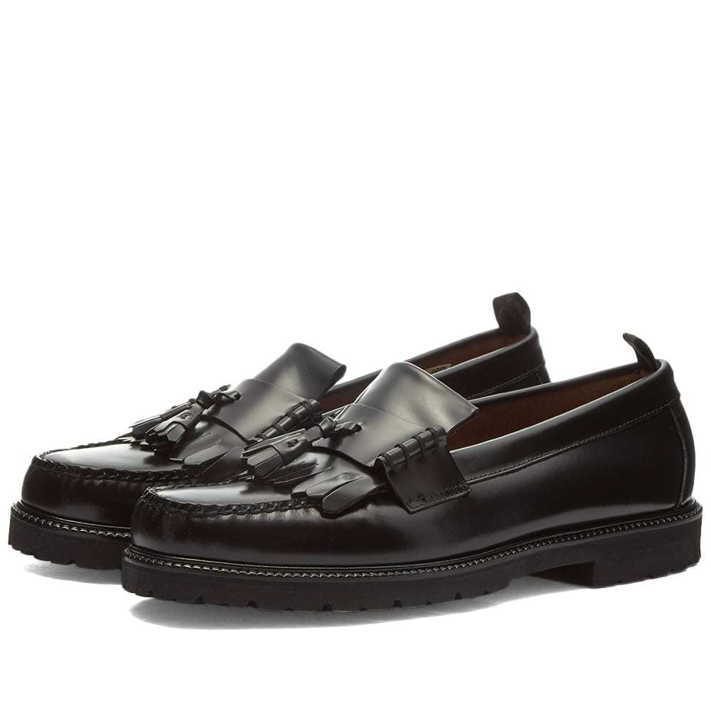 Photo: Fred Perry x G.H Bass Tassel Loafer