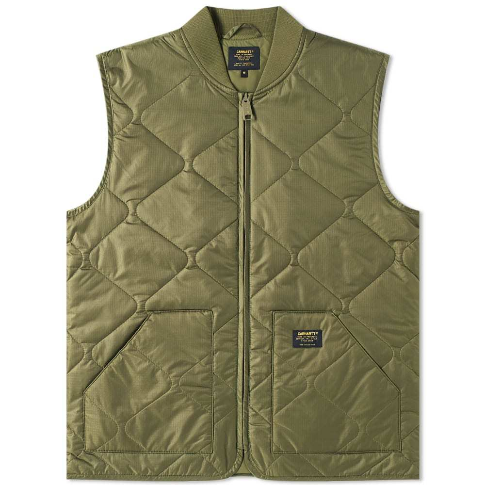 Photo: Carhartt Newton Vest Liner Green