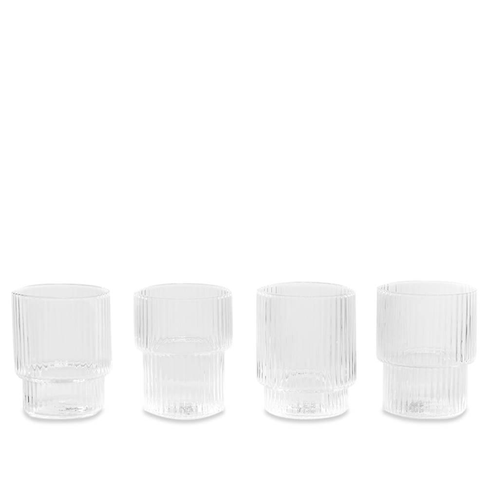 Photo: Ferm Living Ripple Small Glasses - Set of 4