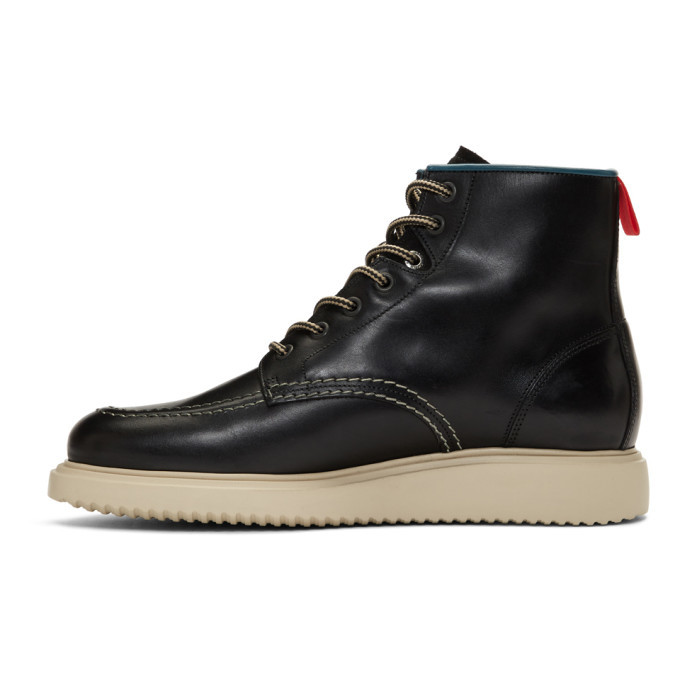 PS by Paul Smith Black Caplan Boots