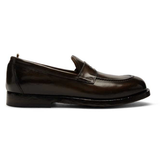 Photo: Officine Creative Grey Ivy 004 Loafers
