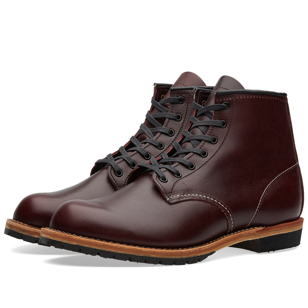 "Photo: Red Wing 9011 Beckman 6"" Round Toe Boot Red"