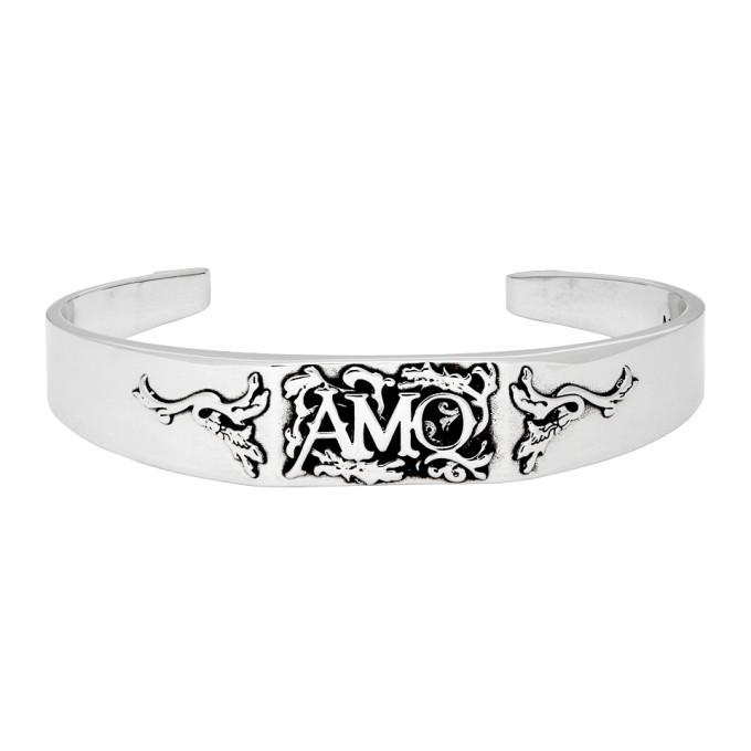Photo: Alexander McQueen Silver Cuff Bracelet