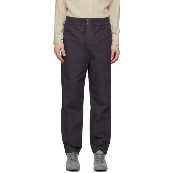 Photo: Isabel Marant Navy Tilsor Trousers