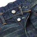 RRL - Slim-Fit Distressed Selvedge Denim Jeans - Men - Blue