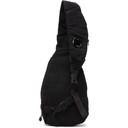 C.P. Company Black Nylon B Single Strap Messenger Bag