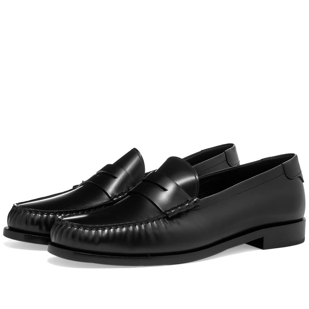 Photo: Saint Laurent Leather Loafer