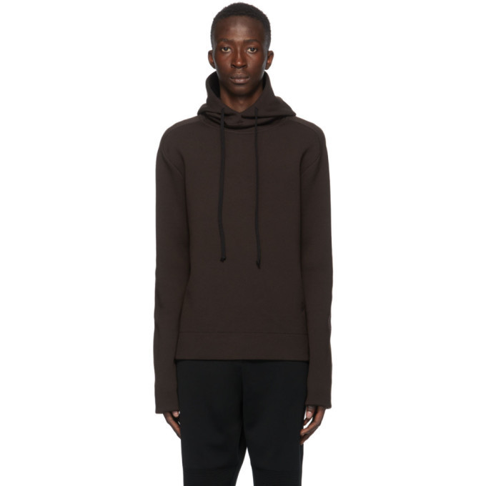 Photo: Bottega Veneta Brown Double-Face Hoodie