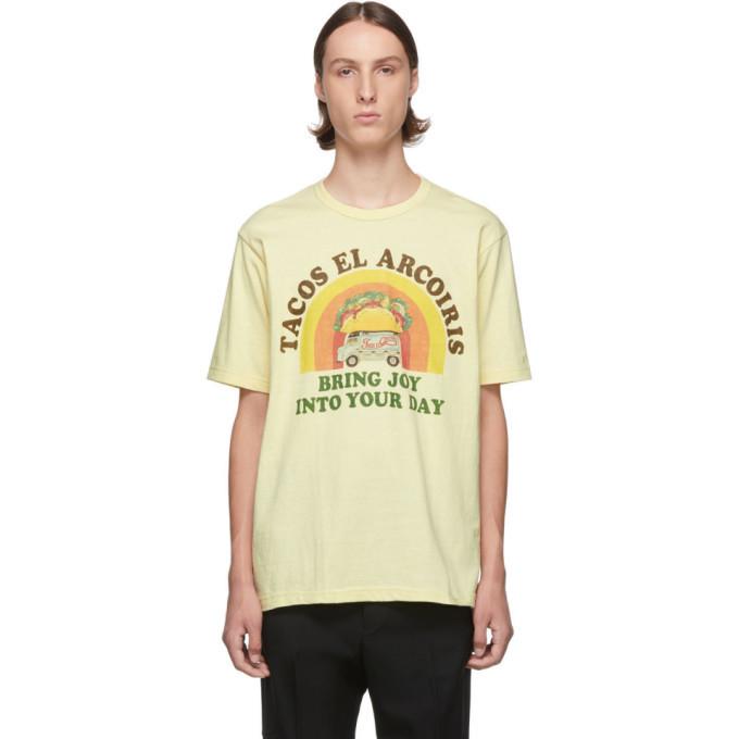 Photo: Junya Watanabe Yellow Graphic T-Shirt
