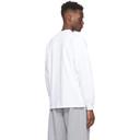 Aries White Its Time Dokkoi Long Sleeve T-Shirt