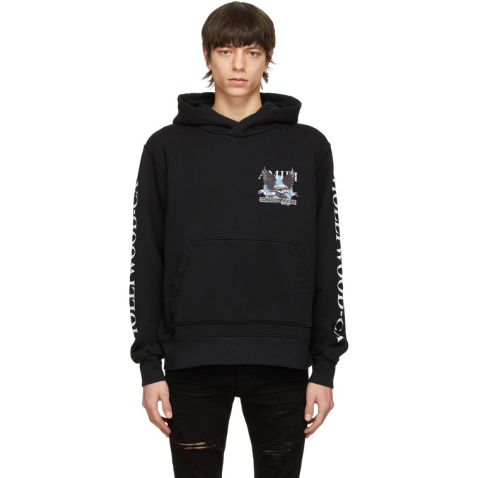 Photo: AMIRI Black Eagle Hollywood Hoodie