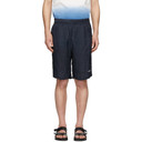 Stella McCartney Blue Cupro Timothy Shorts
