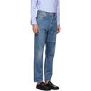 Martine Rose Blue Panel Jeans