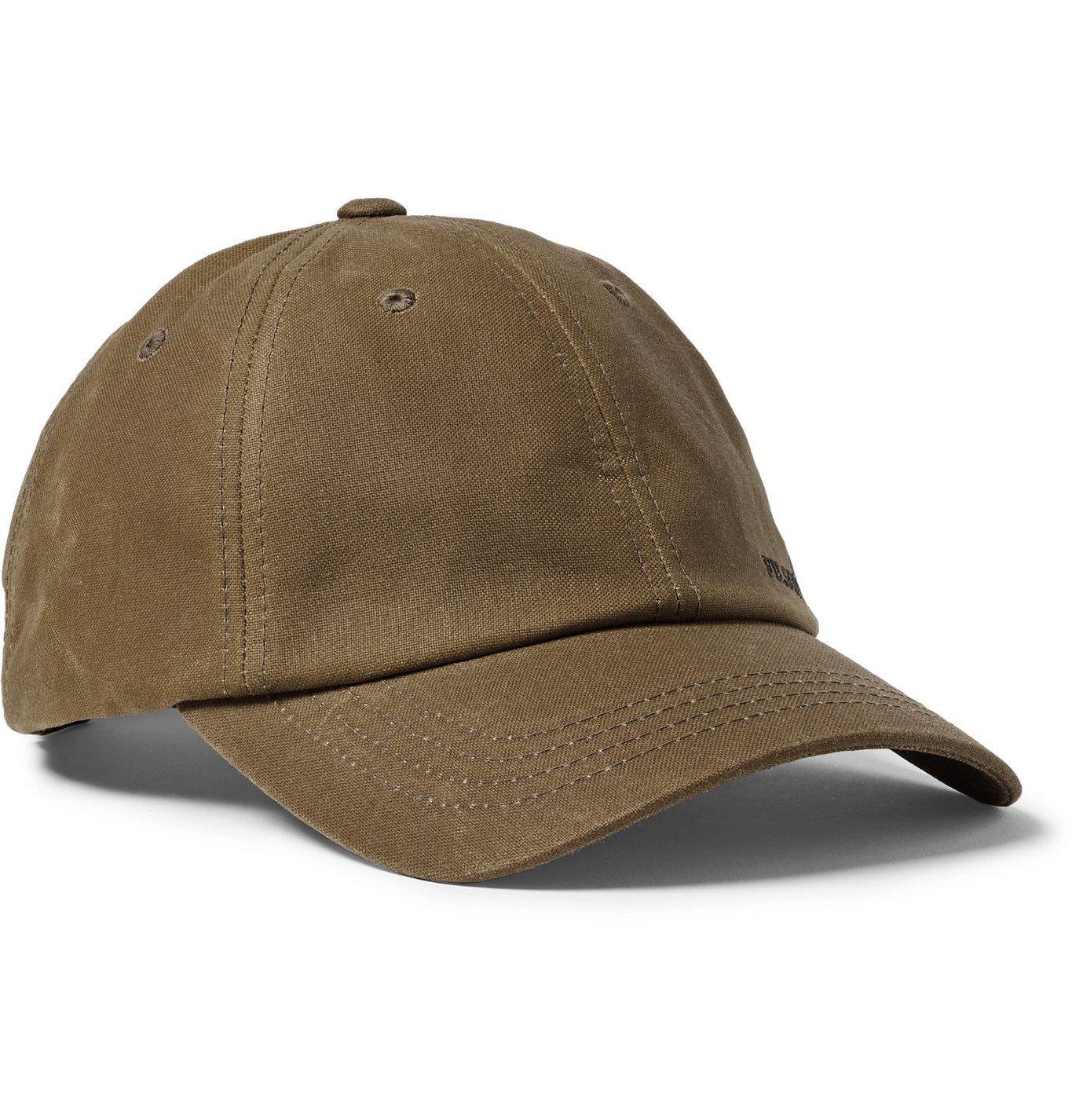 Photo: Filson - Logo-Embroidered Cotton Baseball Cap - Brown