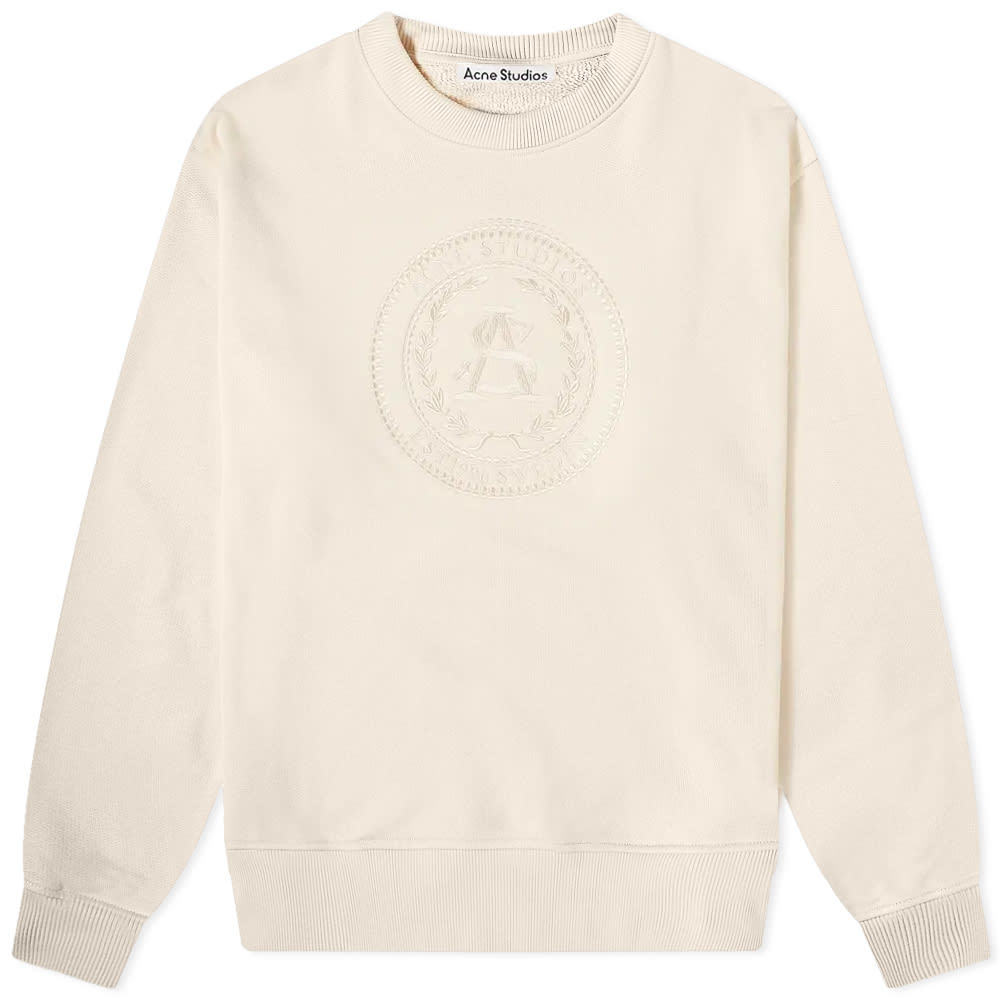 Acne Studios Forban Embroidered Crest Crew Sweat