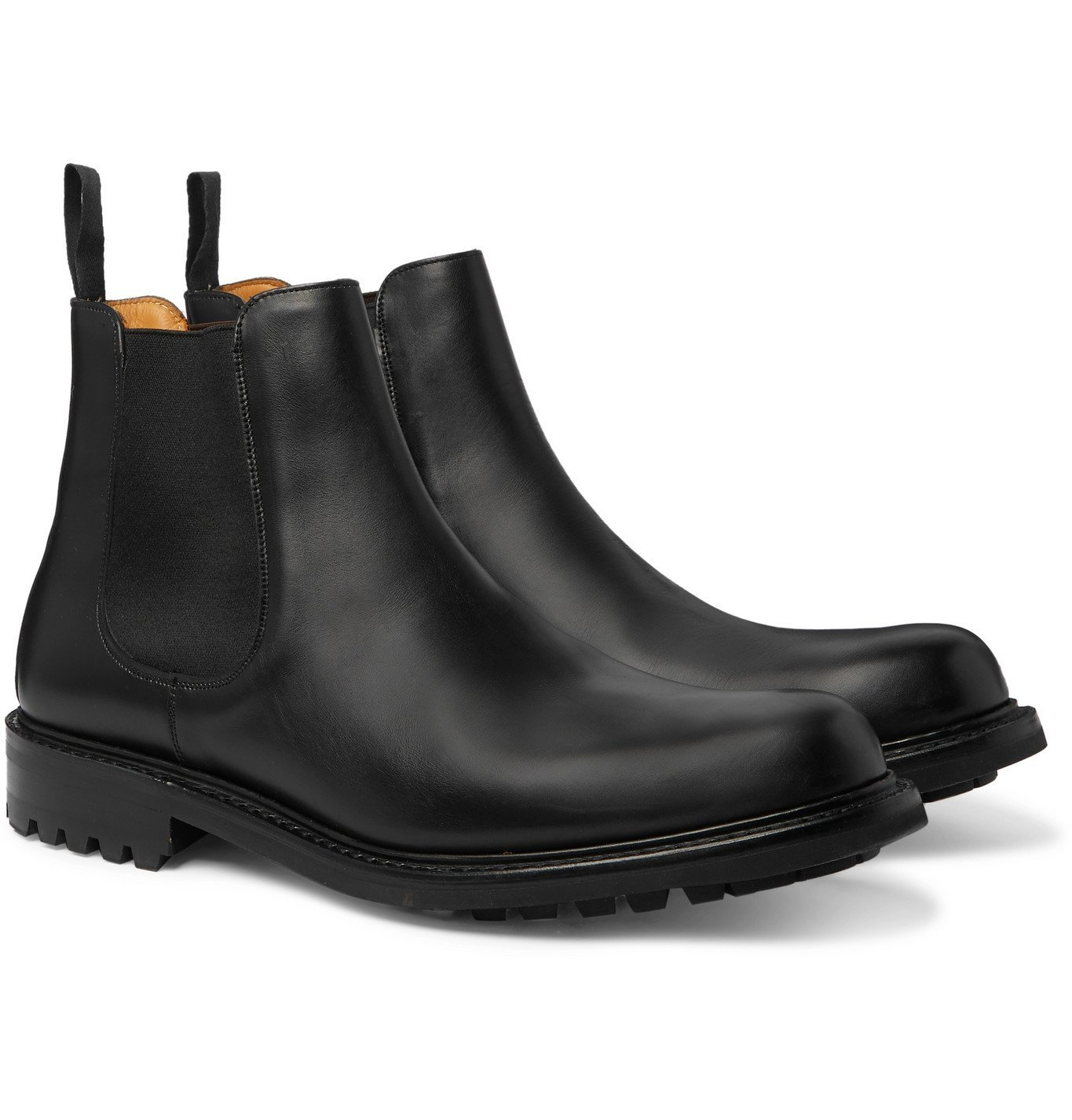 Photo: Mr P. - Peter Leather Chelsea Boots - Black