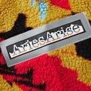 Aries - Logo-Appliquéd Printed Fleece Hoodie - Yellow