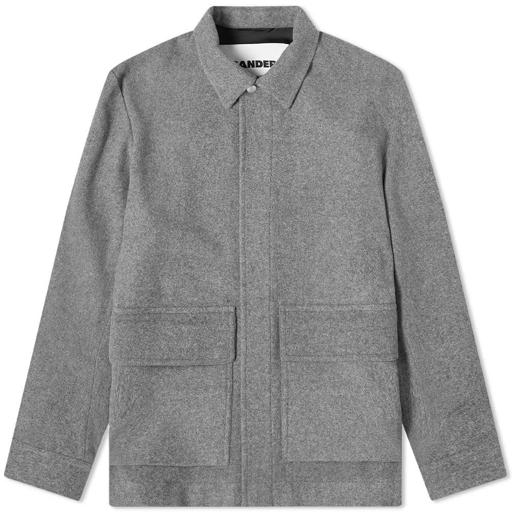 Photo: Jil Sander Plus Patch Pocket Wool Jacket