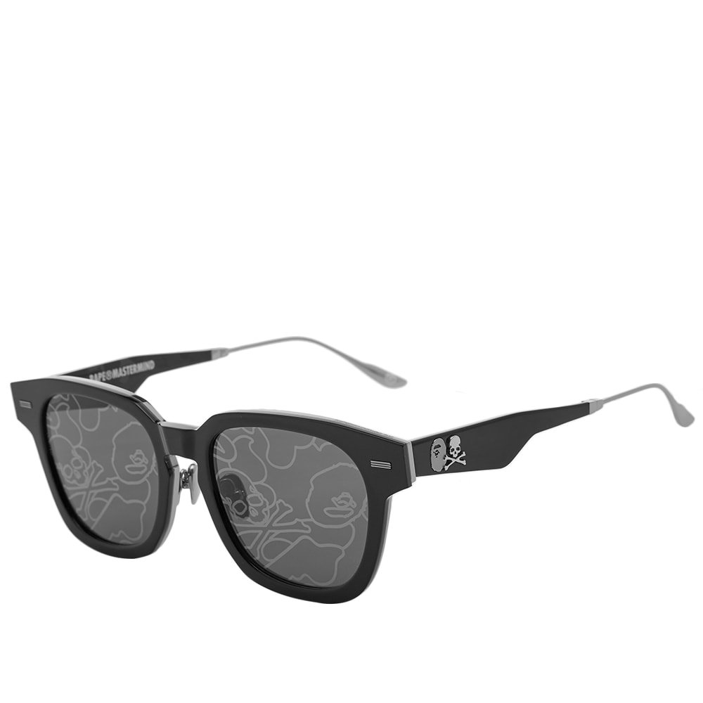 Photo: A Bathing Ape Eyewear x MASTERMIND WORLD BMJ003 V2.0 Sunglasses