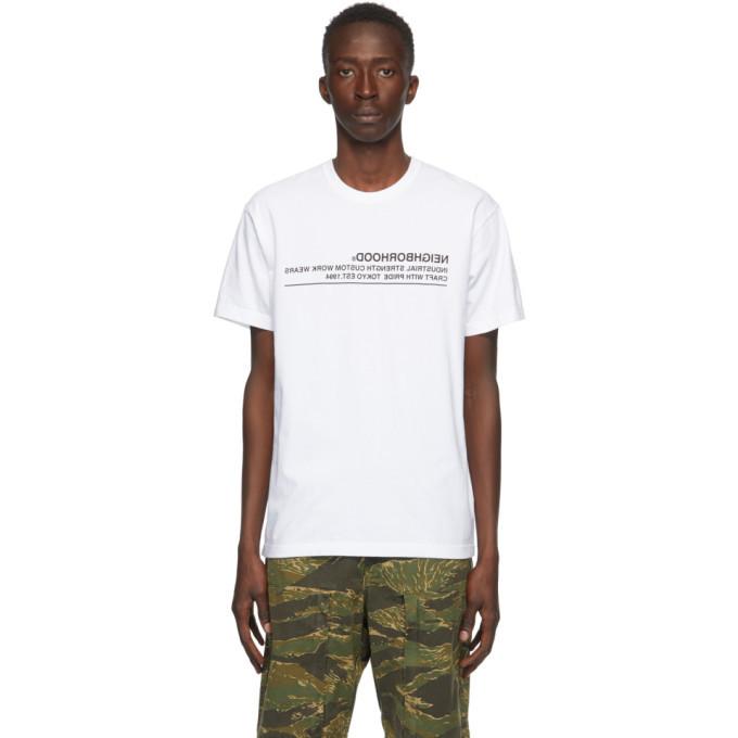 Photo: Neighborhood White Archive No. 0201 Logic T-Shirt