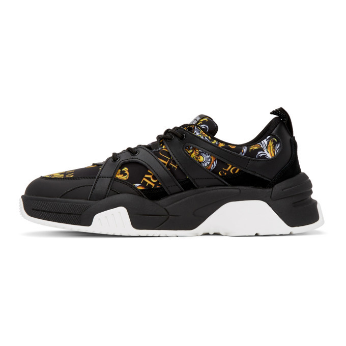 Versace Green Chain Reaction Sneakers