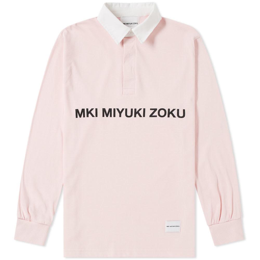 Photo: MKI Logo Rugby Shirt Pink