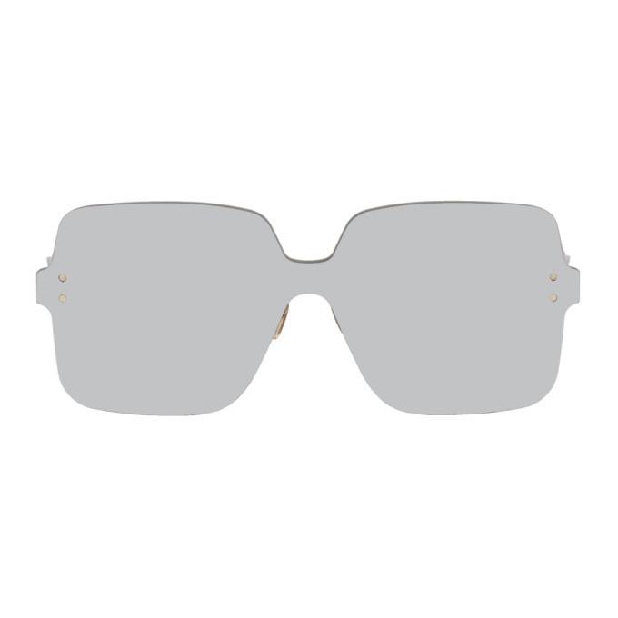 Photo: Dior Silver Color Quake 1 Sunglasses