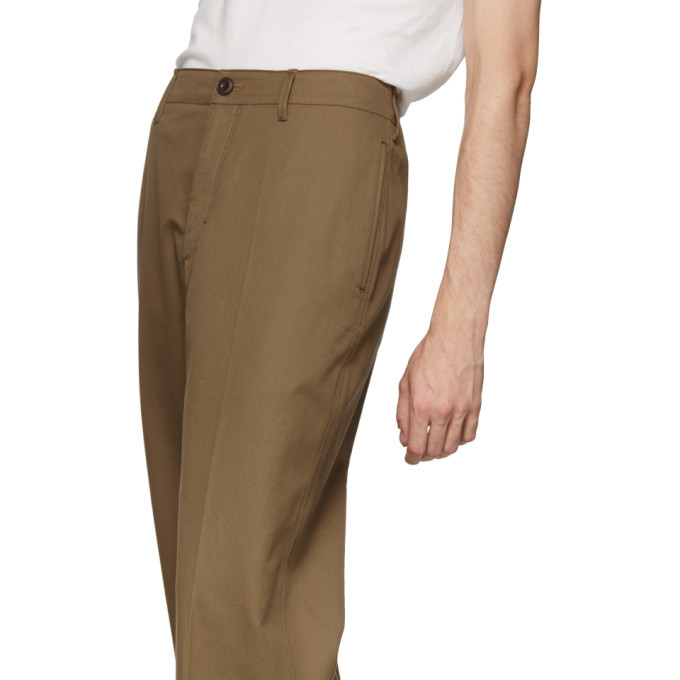 Lemaire Brown Chino Trousers
