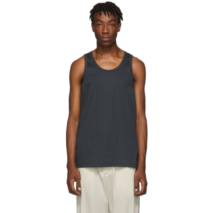 Photo: Y-3 Grey Classic Tank Top