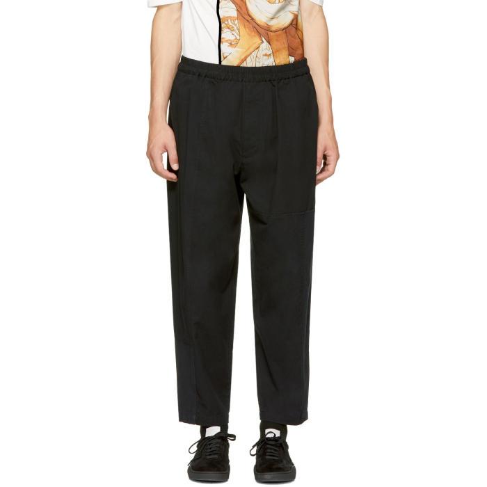 3.1 Phillip Lim Black Patchwork Trousers