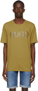 Hugo Yellow Logo T-Shirt