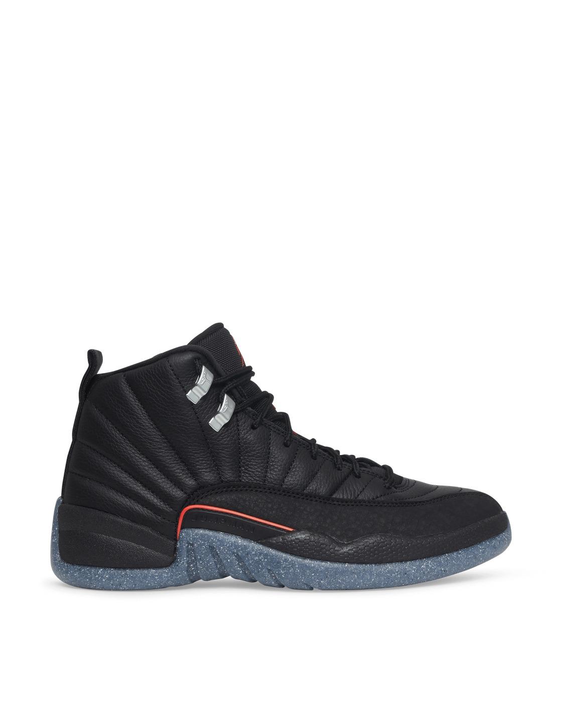 Photo: Nike Jordan Air Jordan 12 Retro Sneakers Black/Bright