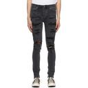 Ksubi Black Ripped Van Winkle Jeans