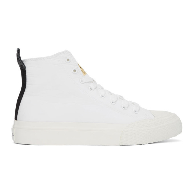 Photo: Diesel White S-Astico MCF Sneakers