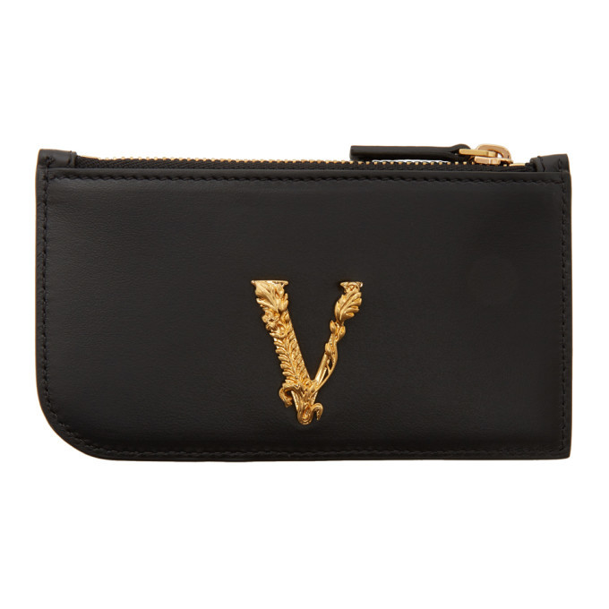 Photo: Versace Black Virtus Cardholder