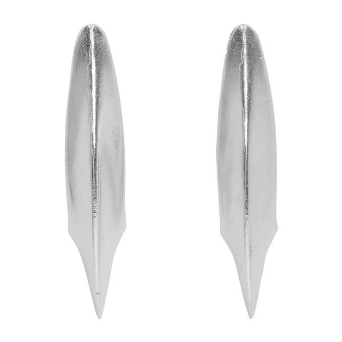 Alighieri SSENSE Exclusive Silver Leone 2.0 Earrings