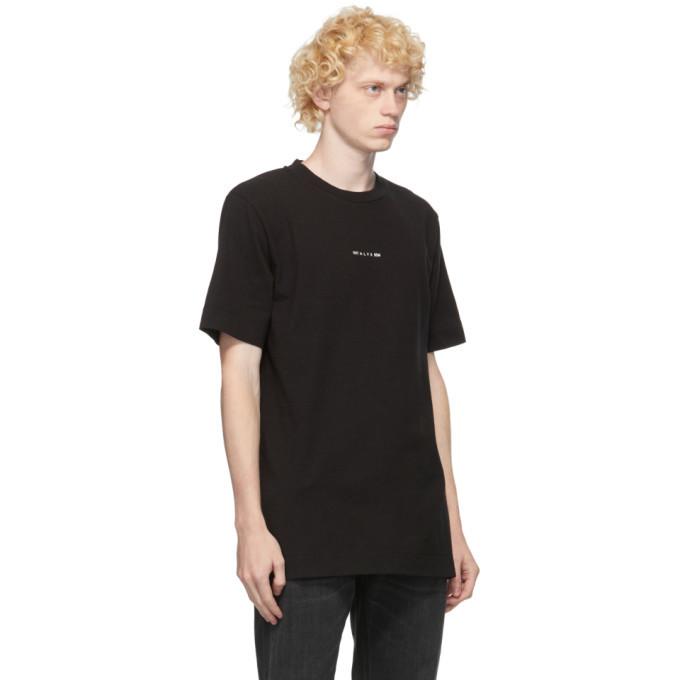 1017 ALYX 9SM Black A Sphere Logo T-Shirt