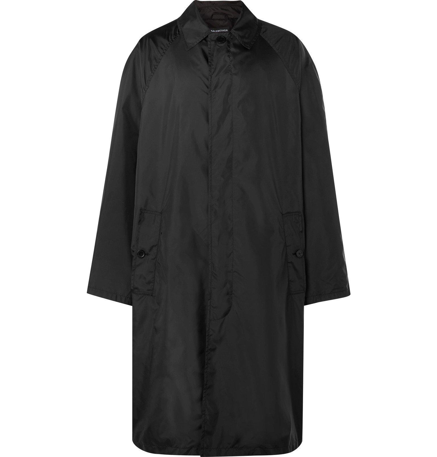 Photo: Balenciaga - Shell Coat - Black
