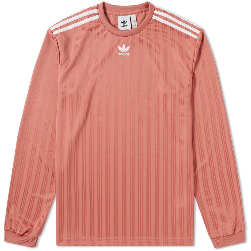Adidas Long Sleeve Jersey Tee Pink