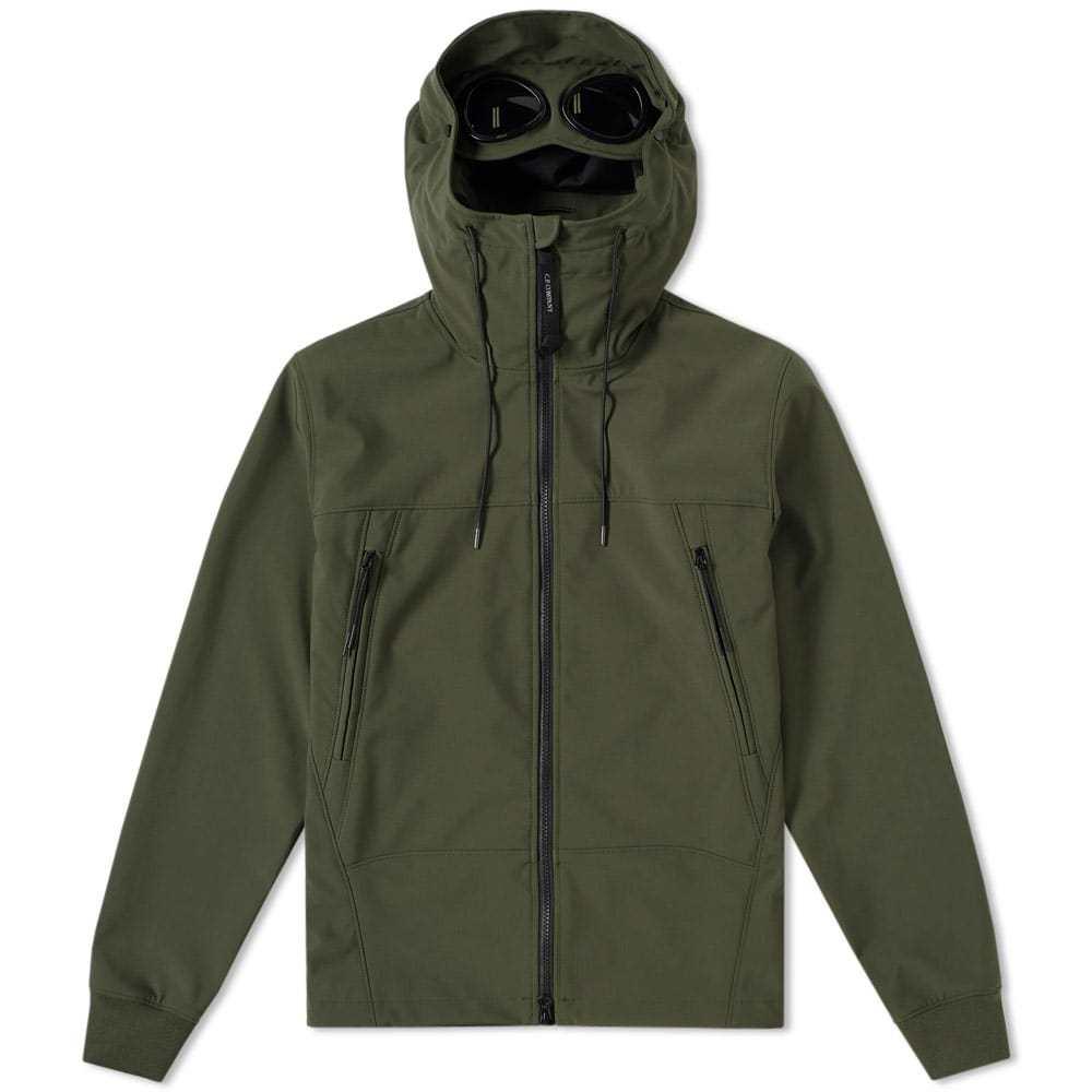 C.P. Company Shell Goggle Jacket Green